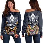 Adelaide Women Off Shoulder Special Crows