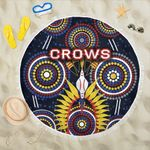Adelaide Beach Blanket Original Indigenous Crows