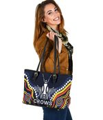 Adelaide Small Leather Tote Special Crows