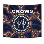 Adelaide Tapestry Indigenous Crows Footprint