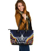 Adelaide Large Leather Tote Special Crows
