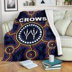Adelaide Premium Blanket Indigenous Crows Footprint