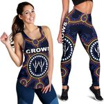 Combo Racerback Tank and Legging Adelaide Indigenous Crows Footprint K8