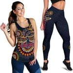 Combo Racerback Tank and Legging Adelaide Indigenous Crows K8