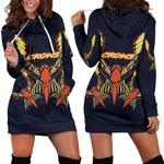 Adelaide Women Hoodie Dress Simple Indigenous Crows