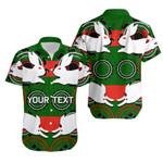 (Custom Personalised)Rabbitohs Hawaiian Shirt Aboriginal Special