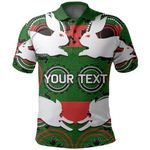 (Custom Personalised) Rabbitohs Polo Shirt Aboriginal Special