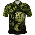 Virgo Zodiac Polo Shirt Polynesian Tattoo Original Vibes - Olive Green K8