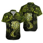 Virgo Zodiac Hawaiian Shirt Polynesian Tattoo Original Vibes - Olive Green K8