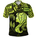 Virgo Zodiac Polo Shirt Polynesian Tattoo Original Vibes - Cornfield K8