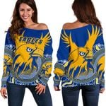 Eagles Off Shoulder Sweater West Coast Mix Indigenous | 1st New Zealand