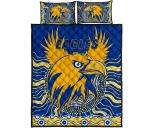 Eagles Quilt Bed Set West Coast Mix Indigenous | 1st New Zealand