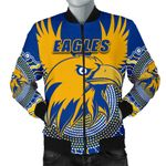 Eagles Men Bomber Jacket West Coast Mix Indigenous | 1st New Zealand