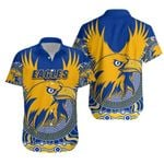 Eagles Hawaiian Shirt West Coast Mix Indigenous | 1st New Zealand