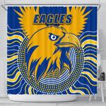 Eagles Shower Curtain West Coast Mix Indigenous | 1st New Zealand