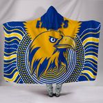 Eagles Hooded Blanket West Coast Mix Indigenous | 1st New Zealand