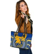 Eagles Small Leather Tote West Coast Mix Indigenous | 1st New Zealand