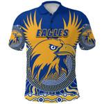 Eagles Polo Shirt West Coast Mix Indigenous | 1st New Zealand