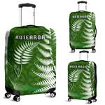 Aotearoa Maori Koru Luggage Covers Silver Fern | 1st New Zealand