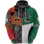 Australia Indigenous and New Zealand Maori Hoodie  - Blake Miranda K13