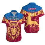 Brisbane Indigenous Hawaiian Shirt Proud Lions | 1st New Zealand