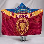 Brisbane Indigenous Hooded Blanket Proud Lions | 1st New Zealand