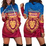 Brisbane Indigenous Women Hoodie Dress Proud Lions | 1st New Zealand