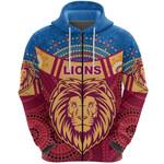 Brisbane Indigenous Zip Hoodie Proud Lions | 1st New Zealand