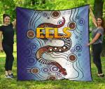 Parramatta Premium Quilt Eels Simple Indigenous