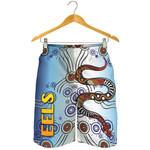 Parramatta Men Shorts Eels Simple Indigenous K8