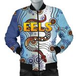 Parramatta Men Bomber Jacket Eels Simple Indigenous