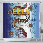 Parramatta Shower Curtain Eels Simple Indigenous