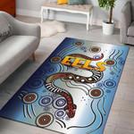 Parramatta Area Rug Eels Simple Indigenous
