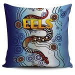 Parramatta Pillow Cover Eels Simple Indigenous K8