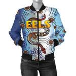 Parramatta Women Bomber Jacket Eels Simple Indigenous