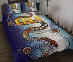 Parramatta Quilt Bed Set Eels Simple Indigenous