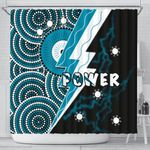 Power Shower Curtain Thunda Port Adelaide |1st New Zealand