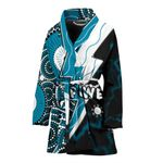 Power Women Bath Robe Thunda Port Adelaide |1st New Zealand