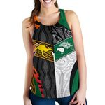 Australia Indigenous and New Zealand Maori Women Racerback Tank Proud | 1st New Zealand