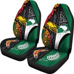 Australia Indigenous and New Zealand Maori Car Seat Covers Proud | 1st New Zealand