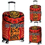 Anzac Lest We Forget Poppy Luggage Covers New Zealand Maori Silver Fern - Australia Aborigina