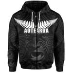 New Zealand Rugby The Haka Tatto Face Zip-Hoodie