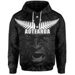 New Zealand Rugby The Haka Tatto Face Hoodie