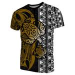 Turtle And Polynesian Tattoo T-Shirt