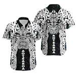 Aotearoa Maori Wahaika Hawaiian Shirt Mix Papua Shell