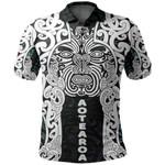 Aotearoa Maori Wahaika Polo Shirt Mix Papua Shell
