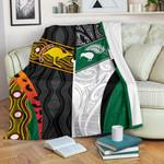 Australia Indigenous and New Zealand Maori Premium Blanket Proud K13