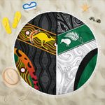 Australia Indigenous and New Zealand Maori Beach Blanket Proud K13