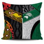 Australia Indigenous and New Zealand Maori Pillow Cover Proud K13