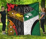 Australia Indigenous and New Zealand Maori Premium Quilt Proud K13